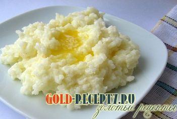 рецепт приготовления вкусной молочной рисовой каши