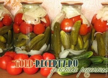 помидоры с цветной капустой на зиму рецепты с фото